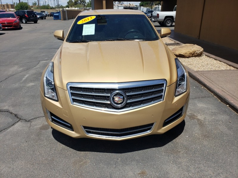 Pre-Owned 2013 Cadillac ATS 4DSD