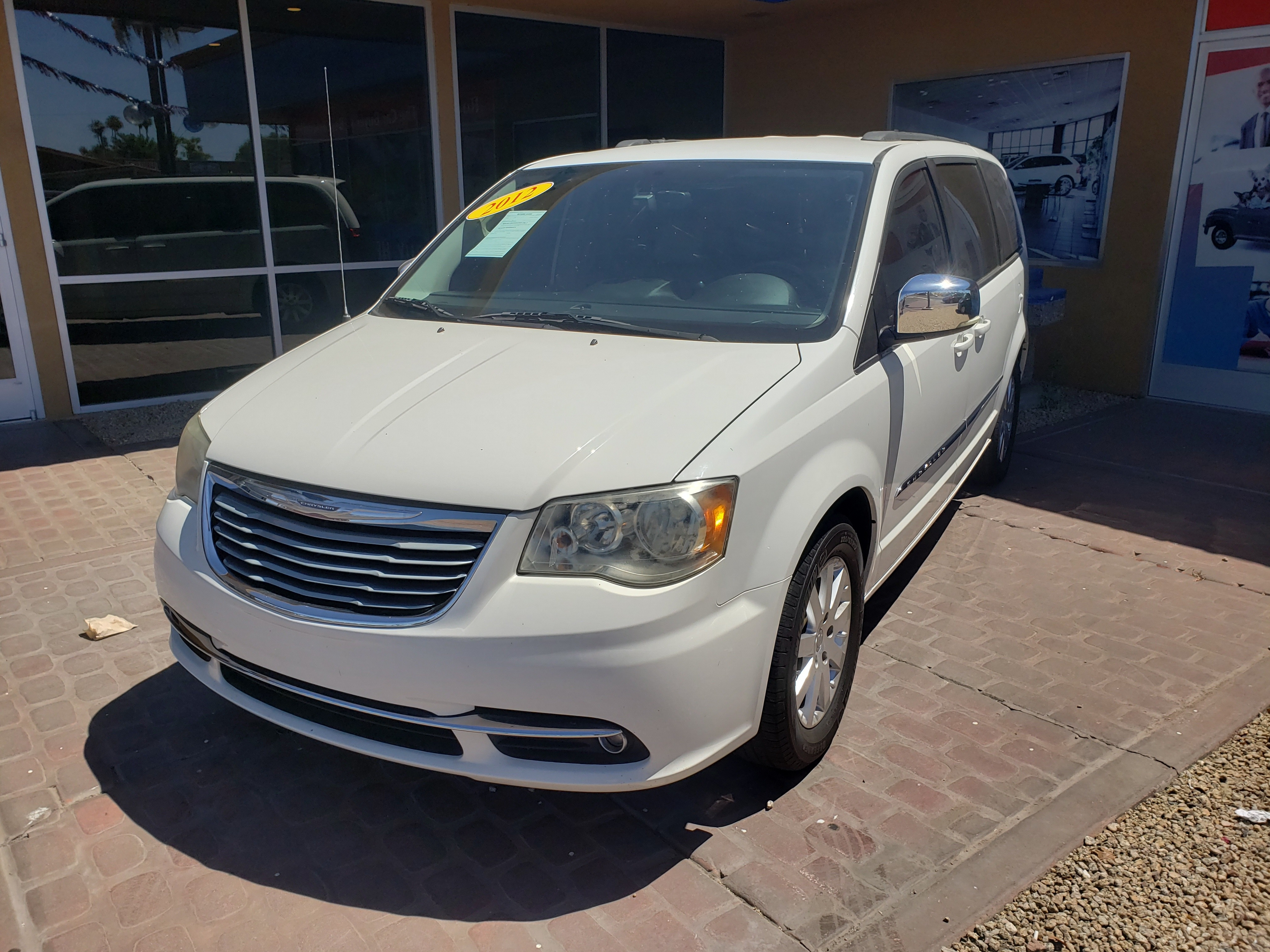 Pre-Owned 2012 Chrysler TOWN COUNTRY 4 DOOR VAN; EXTENDED