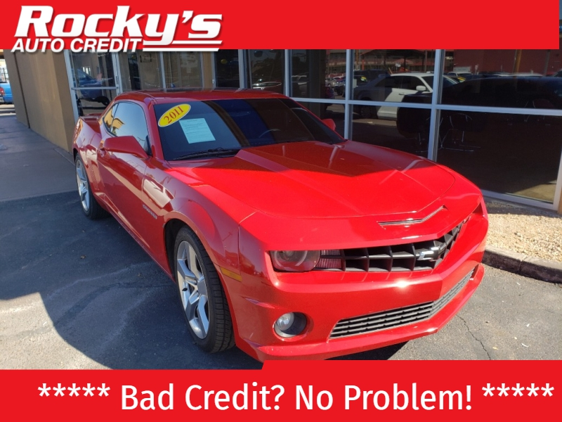 Pre-Owned 2011 Chevrolet CAMARO 2 DOOR COUPE