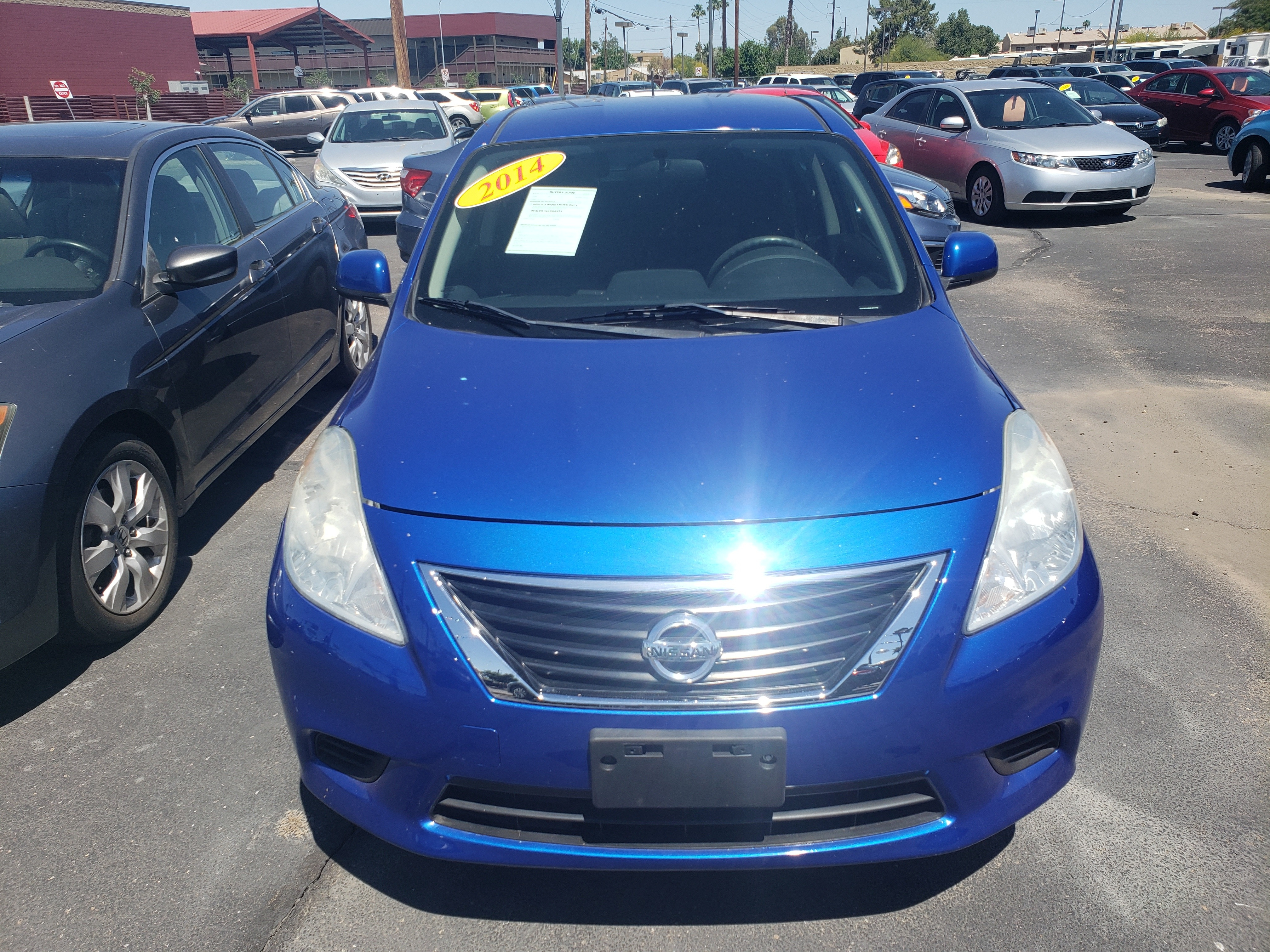 Pre-Owned 2014 Nissan VERSA 4 DOOR SEDAN