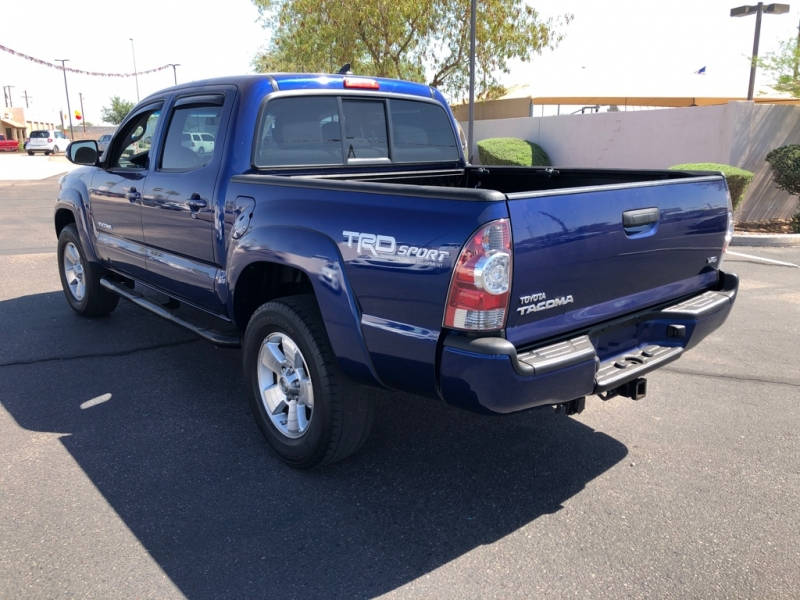 Pre-Owned 2015 TOYOTA TACOMA 4 DOOR CAB; DOUBLE CAB; LONG WH