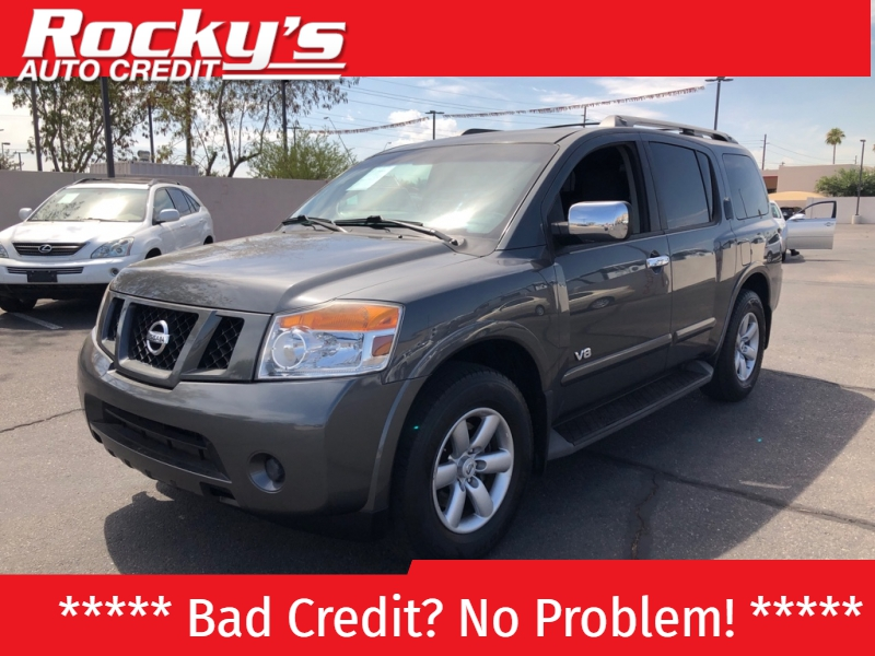 Pre-Owned 2008 Nissan Armada 2WD 4dr SE