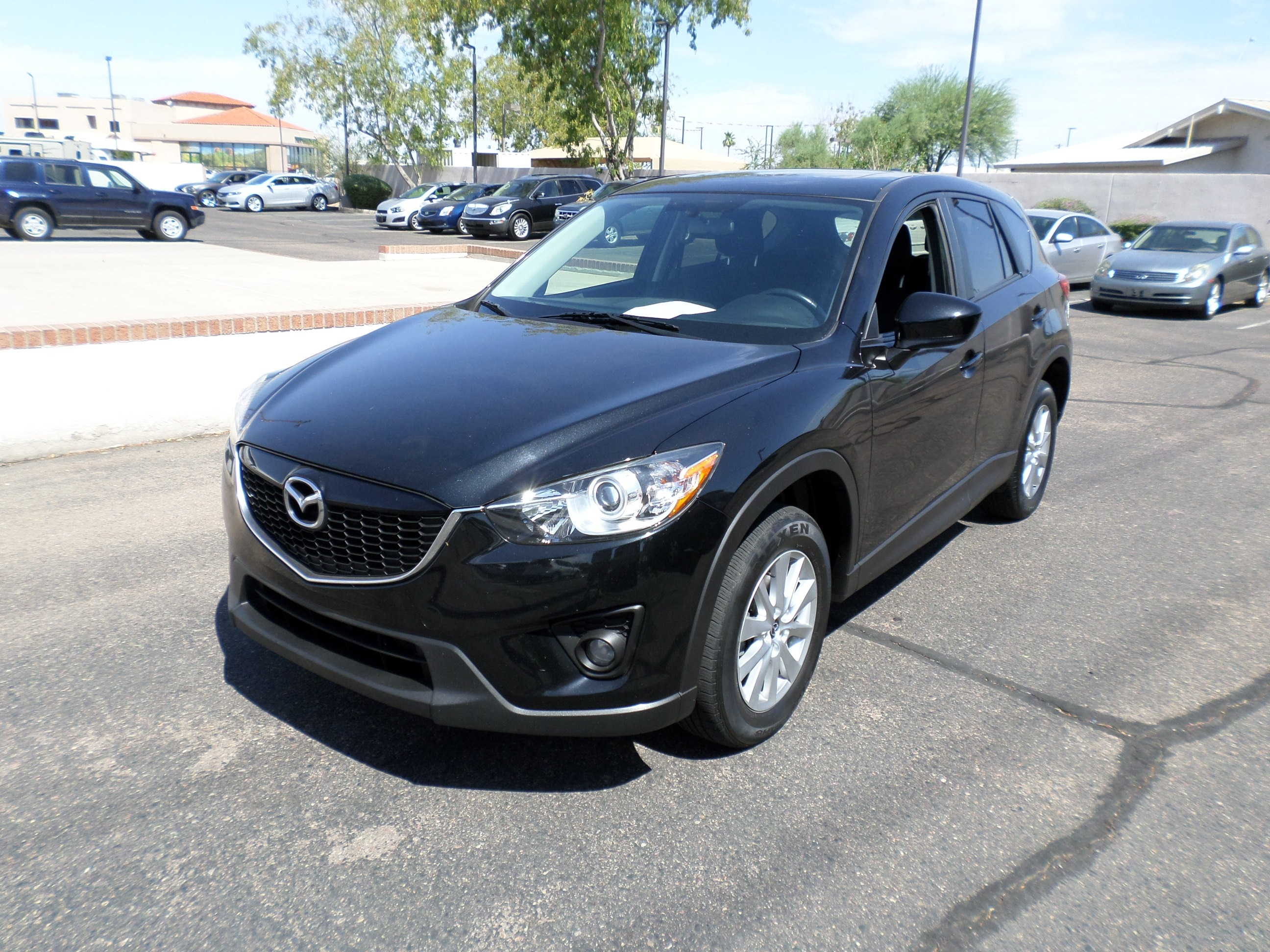 Pre-Owned 2014 Mazda CX-5 AWD 4dr Auto Touring