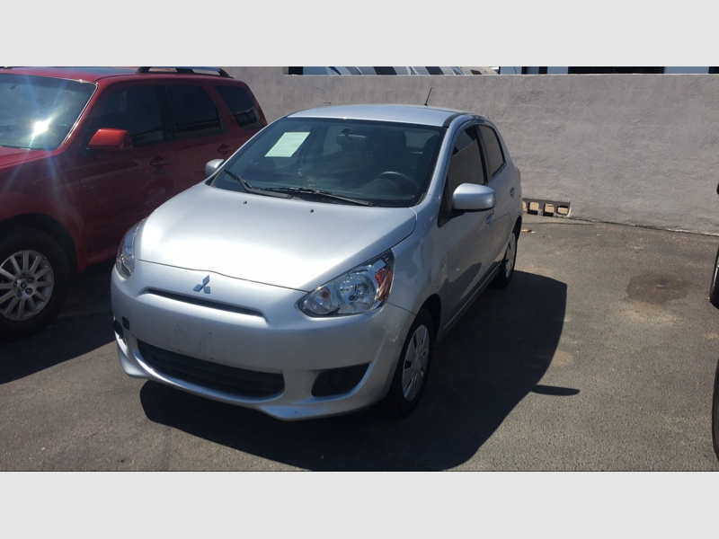 Pre-Owned 2015 Mitsubishi Mirage 4dr HB Man DE