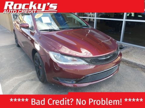 Pre-Owned 2015 Chrysler 200 4 DOOR SEDAN