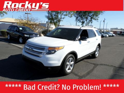 Pre-Owned 2013 Ford Explorer 4WD 4dr XLT