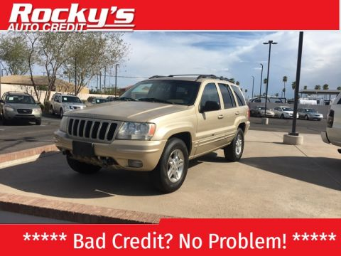 Pre-Owned 2000 Jeep Grand Cherokee 4dr Limited 4WD