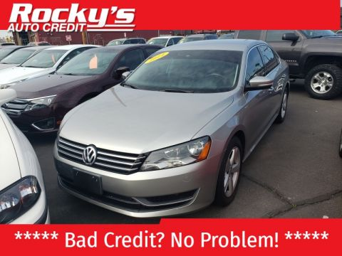 Pre-Owned 2014 Volkswagen PASSAT 4 DOOR SEDAN