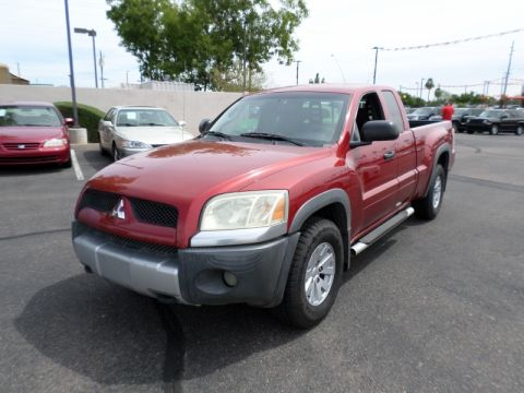 Pre-Owned 2006 Mitsubishi Raider Ext Cab V6 Auto Duro Cross
