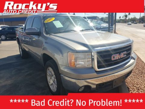 Pre-Owned 2008 GMC SIERRA 4 DOOR CAB; CREW