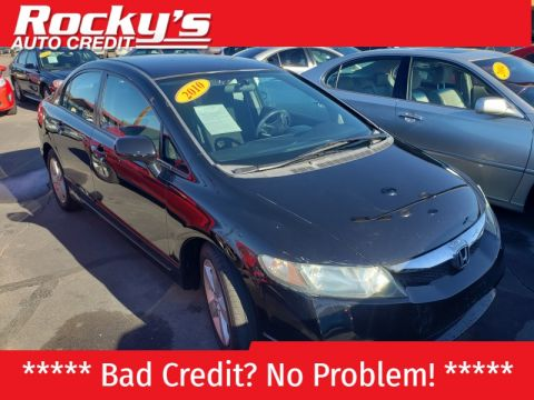 Pre-Owned 2010 Honda CIVIC 4 DOOR SEDAN