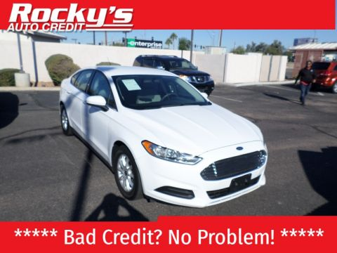 Pre-Owned 2015 Ford Fusion 4dr Sdn S FWD