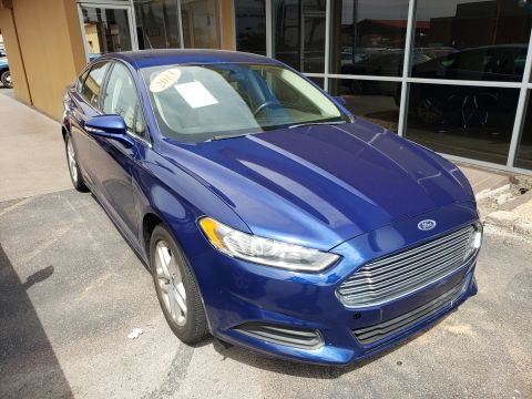 Pre-Owned 2013 Ford FUSION 4 DOOR SEDAN