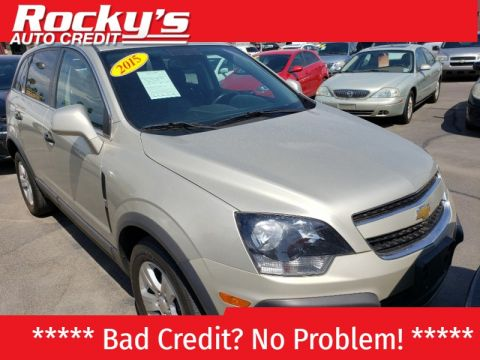 Pre-Owned 2015 Chevrolet CAPTIVA SPORT 4 DOOR WAGON
