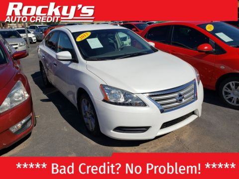 Pre-Owned 2013 Nissan SENTRA 4 DOOR SEDAN