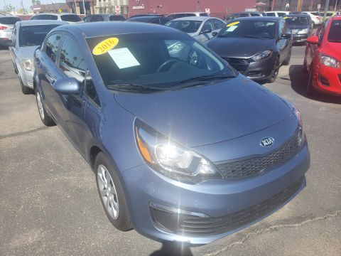 Pre-Owned 2016 Kia RIO 4 DOOR SEDAN